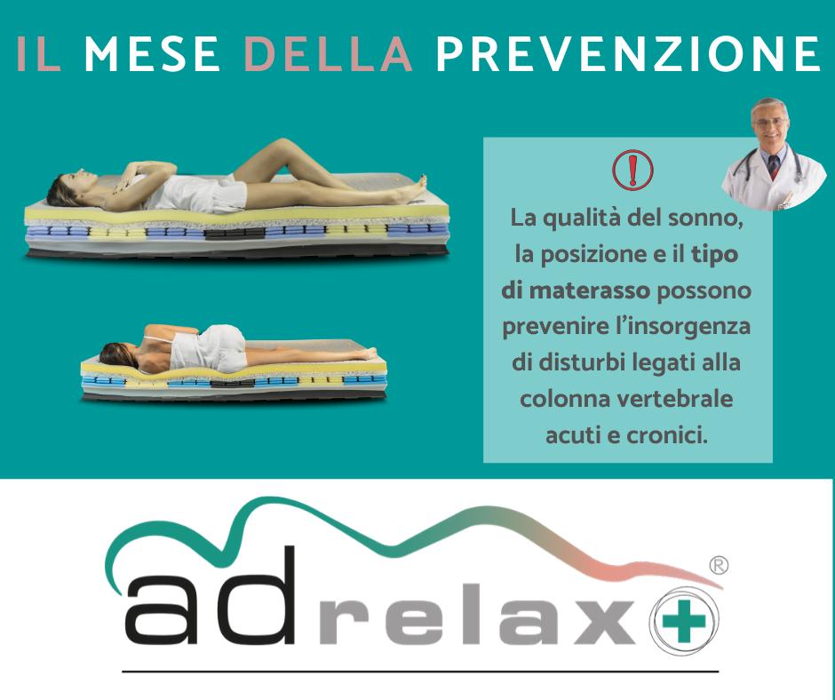 Il mese della prevenzione, consigli del dottore sul materasso
